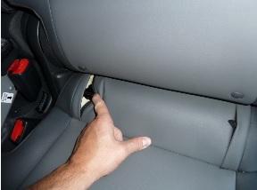 נקודות חיבור ISOFIX ברכב