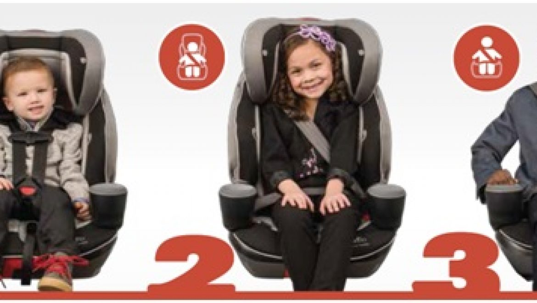 כסאות בטיחות משולבי בוסטר מומלצים לשנת 2017