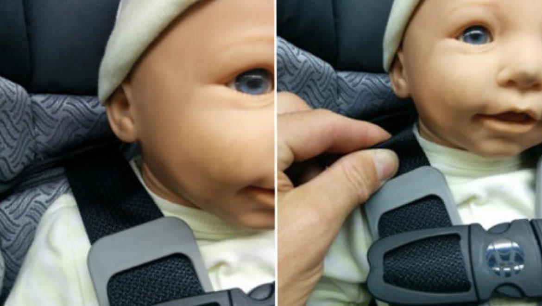 איך נכון לקשור תינוק בכיסא בטיחות
